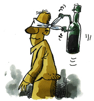 La profiláctica el alcoholismo los tests