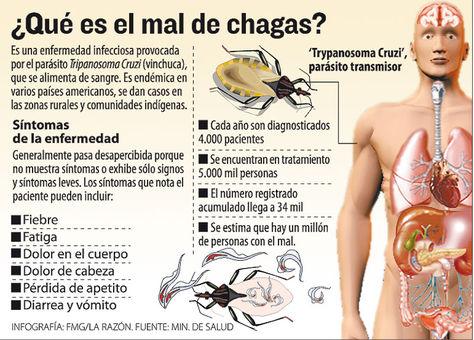 enfermedad de chagas chile