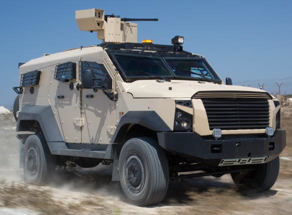 Vehículo Sandcat Oshkosh Defense del Ejercito Mexicano - Página 24 Storn1